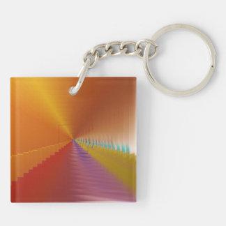 Bright Tunnel Escape Keychain