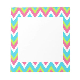 Bright Turquoise Notepad