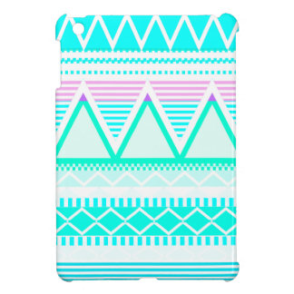 Bright Turquoise Tribal Case For The iPad Mini