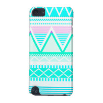 Bright Turquoise Tribal iPod Touch 5G Cover