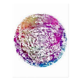 Bright Undulating Orb - CricketDiane Art Postcard