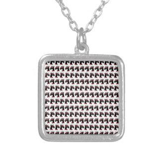 Bright Unicorns Silver Plated Necklace