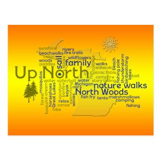 Bright Up North - MIchigan Postcard