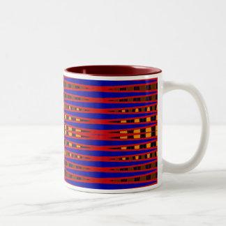 Bright Vibes Two-Tone Coffee Mug