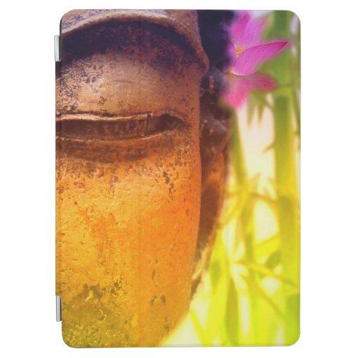 Bright & Vibrant Buddha & Bamboo iPad Air Cover