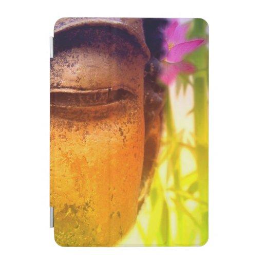 Bright & Vibrant Buddha & Bamboo iPad Mini Cover