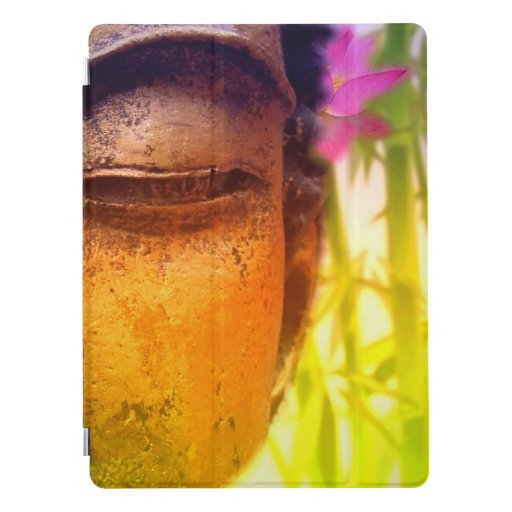 Bright & Vibrant Buddha & Bamboo iPad Pro Cover