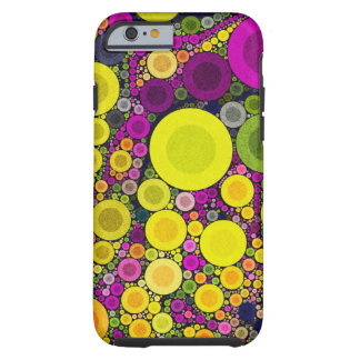 Bright Vibrant Round Abstract iPhone6 Tough Tough iPhone 6 Case