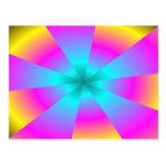 Bright Vortex Postcard