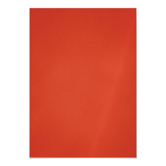 Bright Warm Red Grainy Texture Magnetic Card