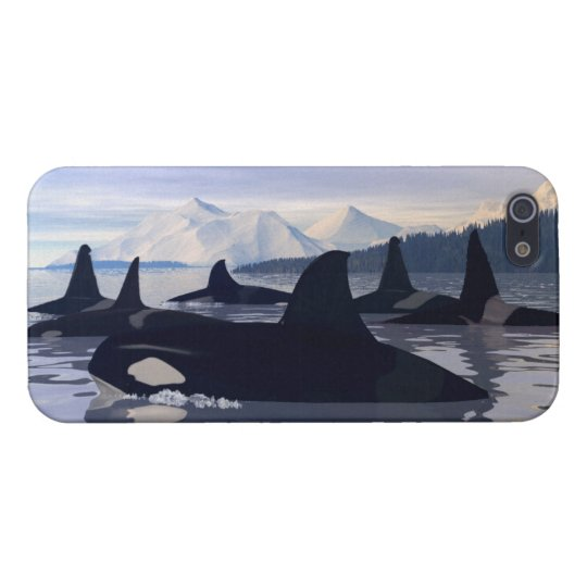 Bright Water Orca iPhone SE/5/5s Case