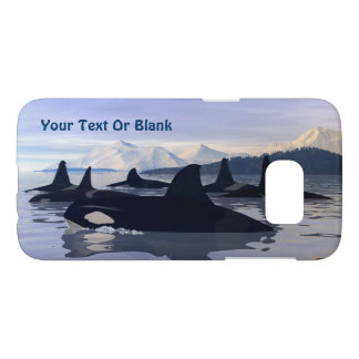 Bright Water Orca Samsung Galaxy S7 Case