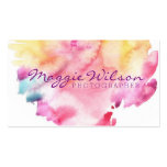 Bright WaterColor Business Card