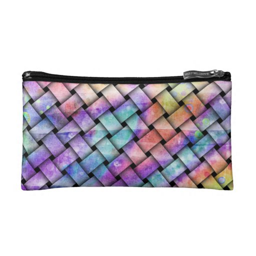 BRIGHT WEAVE ACCESSORY BAGS