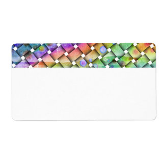 BRIGHT WEAVE Customizable LABEL - NAME TAG