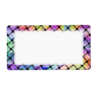 BRIGHT WEAVE Customizable LABEL - NAME TAGS