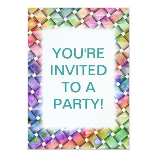BRIGHT WEAVE Customizable PARTY INVITATION