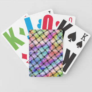 BRIGHT WEAVE Customizable PLAYING CARDS