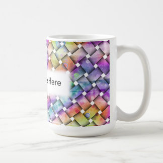 BRIGHT WEAVE MUGS or CUPS