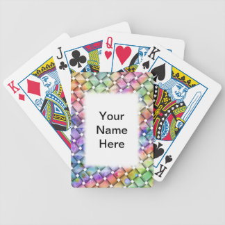 BRIGHT WEAVE Personalizable PLAYING CARDS