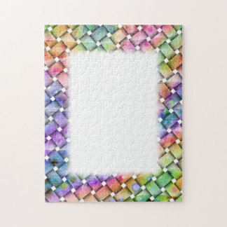 BRIGHT WEAVE PUZZLE FRAME
