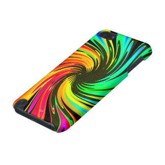 Bright Whirling Neon Lights Whirlpool Galaxy iPod Touch (5th Generation) Cover