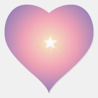 Bright White Star Stickers