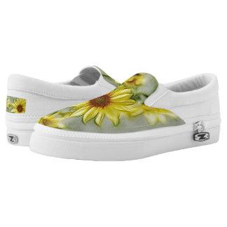Bright Wild Sunflower Slip-On