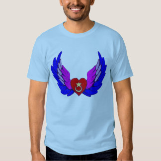 Bright Winged Sufi Heart Shirt