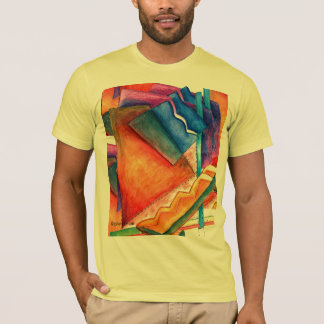 Bright Winter Abstract T-Shirt