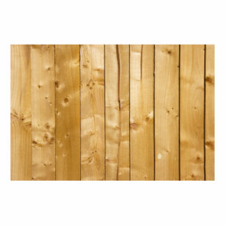 Bright Wood Background Standing Photo Sculpture
