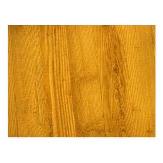 Bright Woodgrain Texture Postcard