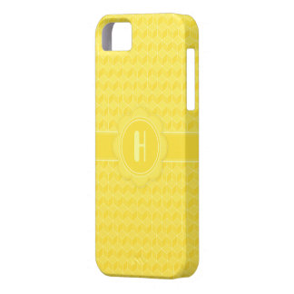 Bright Yellow 3D cubes cascading iPhone SE/5/5s Case