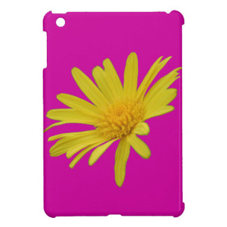 Bright Yellow Aster Daisy Flower Cover For The iPad Mini