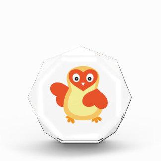 Bright Yellow Baby Chick Acrylic Award