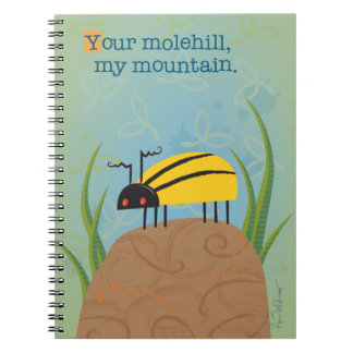 Bright Yellow Beetle Notebook
