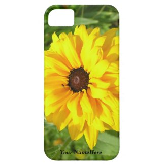 Bright Yellow Blanket Flower Personal iPhone5 Case