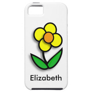 Bright Yellow Buttercup Graphic iPhone 5 Case