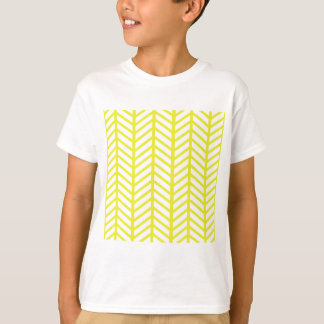 Bright Yellow Chevron Folders T-Shirt