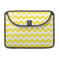 Bright Yellow Chevrons MacBook Pro Sleeve