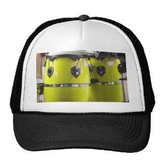 Bright yellow conga drums photo.jpg trucker hat