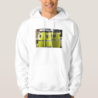 Bright yellow conga drums photo.jpg pullover