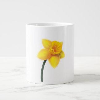 Bright Yellow Daffodil Large Coffee Mug