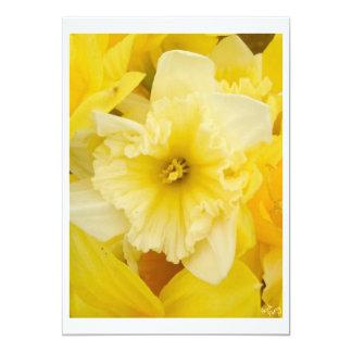 Bright Yellow Daffodils Invitations