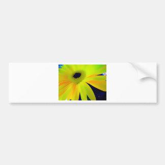 Bright Yellow Daisy Gifts Bumper Sticker