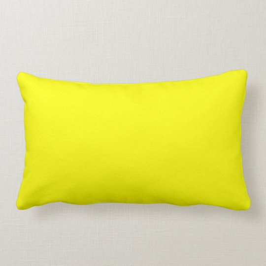 Bright Yellow Decorative Throw Pillows For Sofa