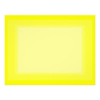 bright yellow DIY custom background template Letterhead