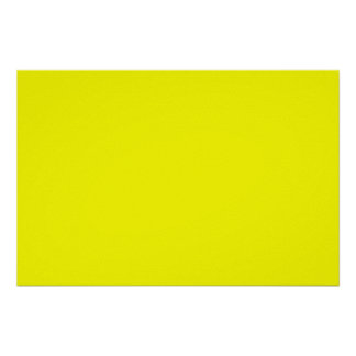bright yellow DIY custom background template Poster