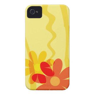 Bright Yellow Flower Blackberry Case
