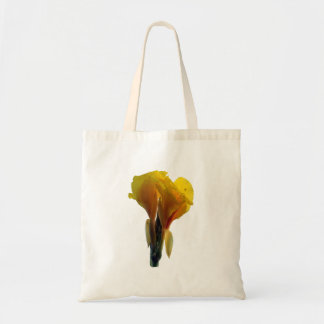 Bright Yellow Flower Cutout Picture Photo Bags